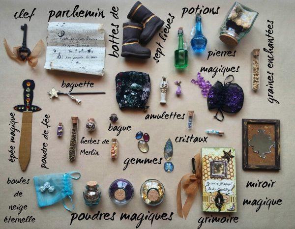 Diy, objets magiques, conte de fée, écriture, merveilleux, fée, sorcière, rédaction, grimoire magique, diy,