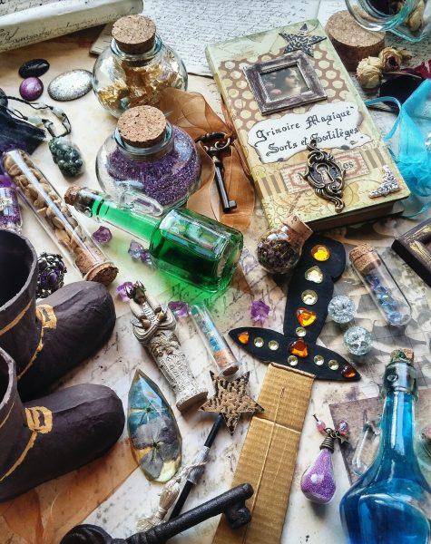 objets magiques, conte de fée, écriture, merveilleux, magie