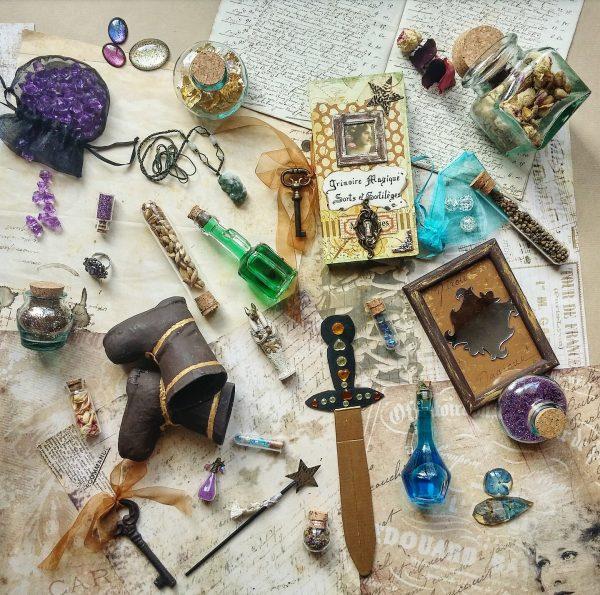 harry potter, objets magiques, conte de fée, écriture, merveilleux, fée, sorcière, rédaction, grimoire magique, diy, baguette, potion, sorts, sortilèges
