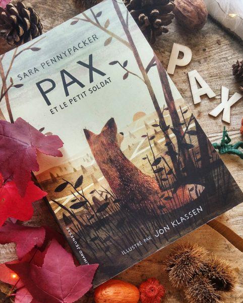 Pax et le petit soldat Sara Pennypacker roman lecture avis critique chronique