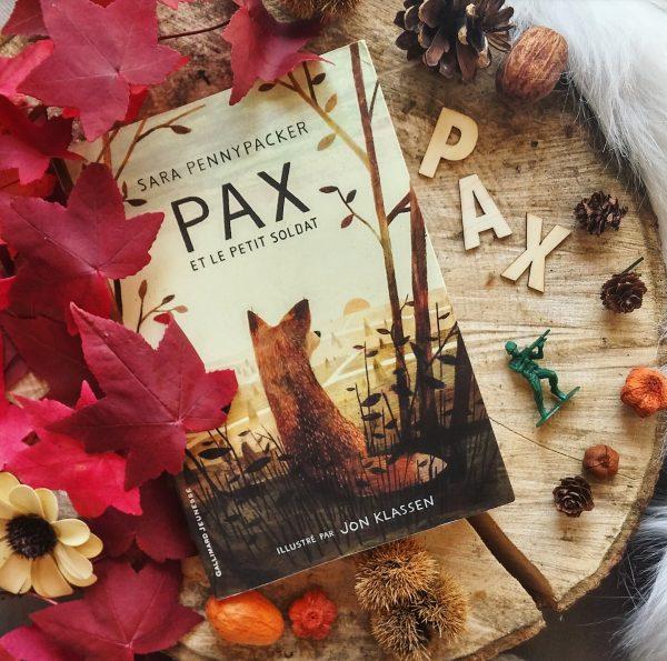 Pax et le petit soldat Sara Pennypacker roman littérature jeunesse Jon Klassen édition gallimard guerre amitié illustrations enfance lecture