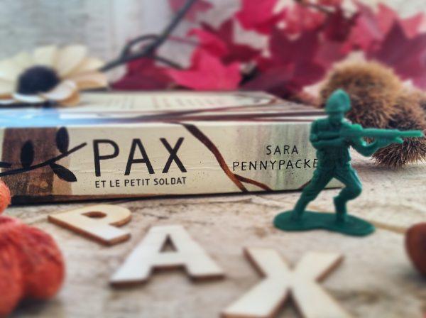 Pax et le petit soldat Sara Pennypacker roman littérature jeunesse Jon Klassen édition gallimard guerre amitié