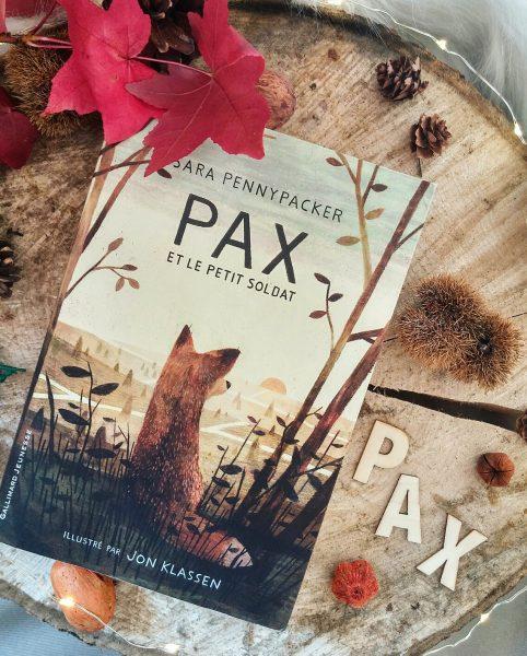 Pax et le petit soldat Sara Pennypacker roman jeunesse Jon Klassen