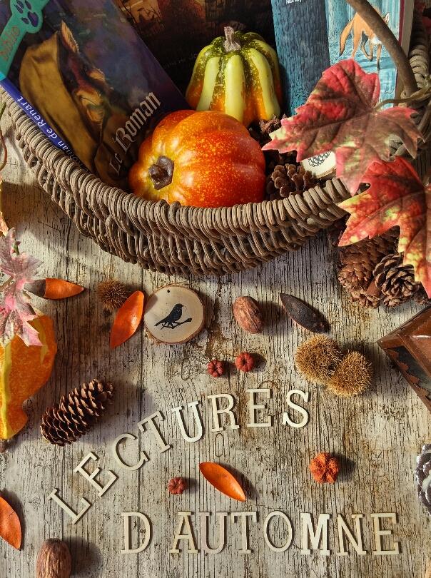 panier de saison, automne, renard, sélection de livres, lecture, CDI, littérature jeunesse, lectures d'automne