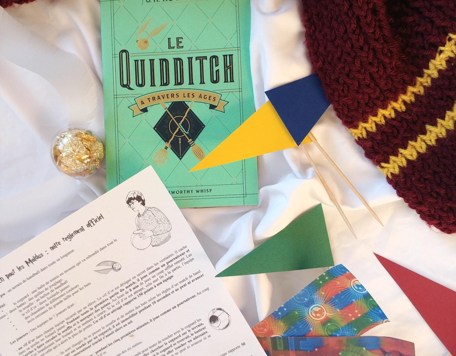 quidditch à travers les âges règles du jeu rules règlement jouer en vrai harry potter