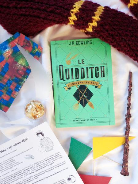 quidditch règles du jeu jouer Harry Potter