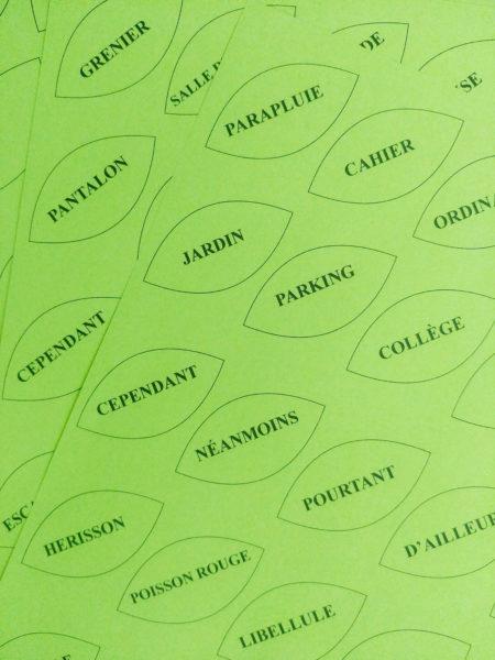 activité d'écriture collège français mots français mots faire écrire