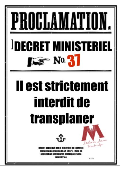 proclamations collège Pouldard à imprimer