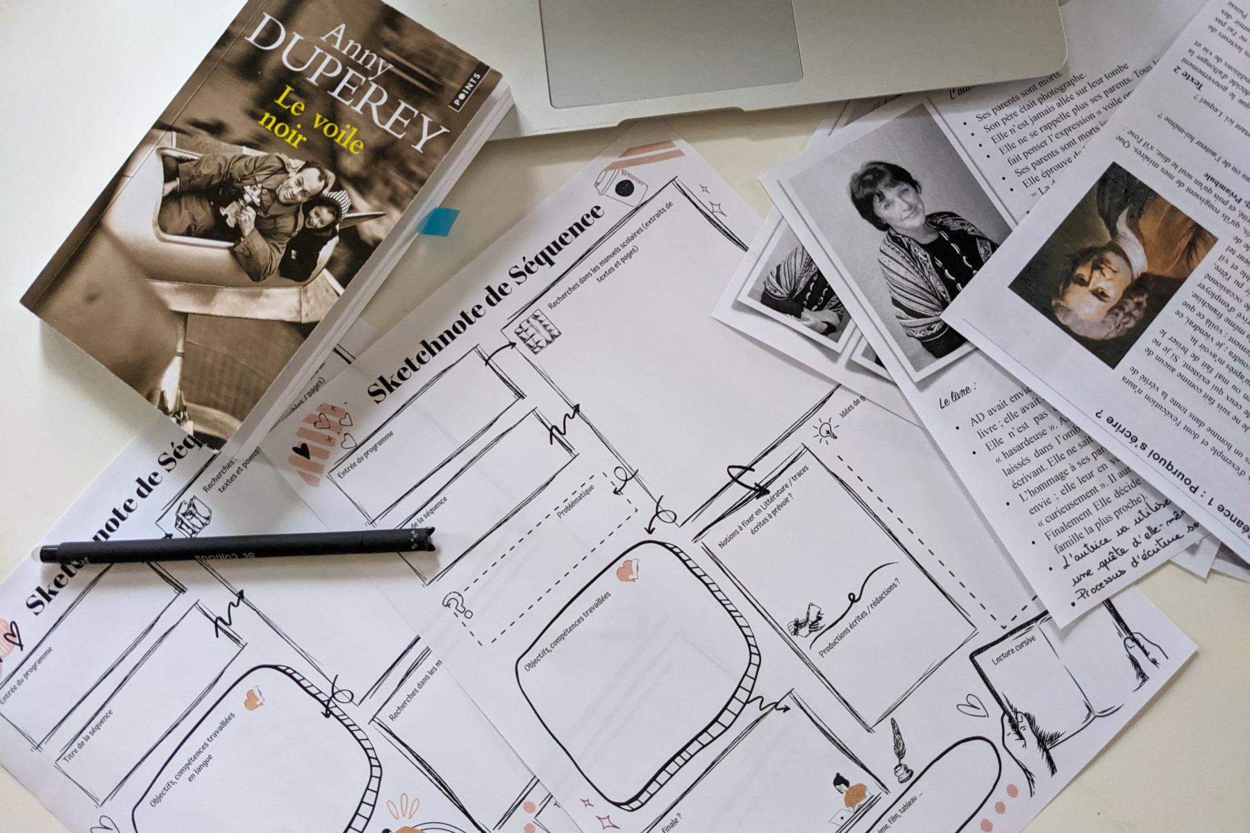sketchnoting sketchnote cours de français