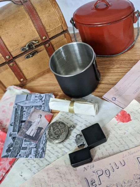 trésors de guerre, boîtes à souvenirs de Poilus