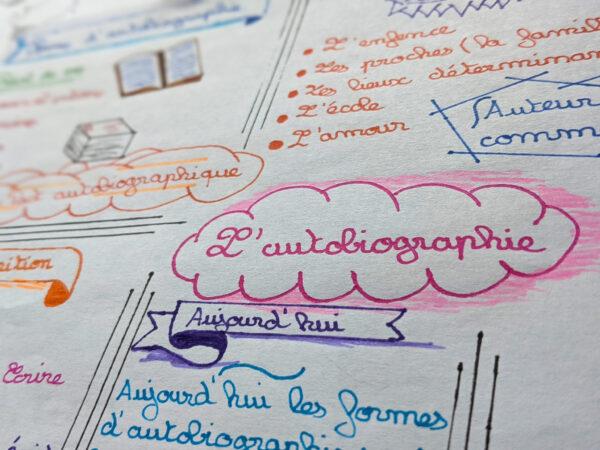 sketchnote ton cours méthode tuto fiche outil fiche de révision