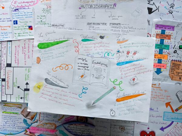 méthode sketchnote tuto prise de notes